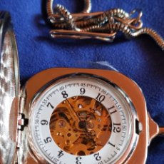 Relojes de bolsillo: RELOJ DE BOLSILLO MÁQUINA VISTA. Lote 173464724