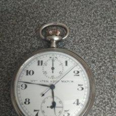 Relojes de bolsillo: RELOJ CRONOMETRO WEBSTER STER STOP WATCH. Lote 173468700
