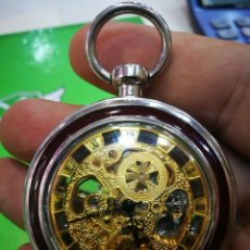 Relojes de bolsillo: RELOJ DE BOLSILLO CARGA MANUAL ¡PRECIOSO! CRUZ DE MALTA.LEER DESCRIPCIÓN(IMPORTANTE). Lote 173508449