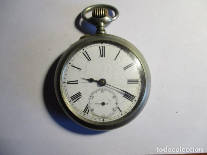 RELOJ MOERI FUNCIONANDO 52 MM SIN CONTAR LA CORONA (Relojes - Bolsillo Carga Manual)