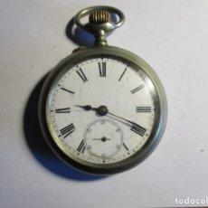 Relojes de bolsillo: RELOJ MOERI FUNCIONANDO 52 MM SIN CONTAR LA CORONA . Lote 173579027