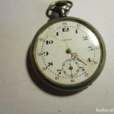 Relojes de bolsillo: RELOJ ULTRA FUNCIONANDO 44 MM SIN CONTAR LA CORONA FALTA CRISTAL Y MINUTERO . Lote 173579535