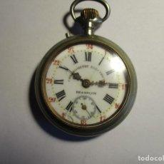 Relojes de bolsillo: RELOJ ROSKOPF FUNCIONANDO 54 MM SIN CONTAR LA CORONA . Lote 173580837