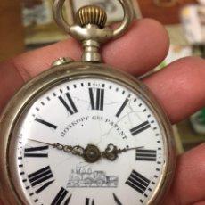 Relojes de bolsillo: RELOJ DE BOLSILLO PLATA ROSKOPF A REPARAR. Lote 173607862