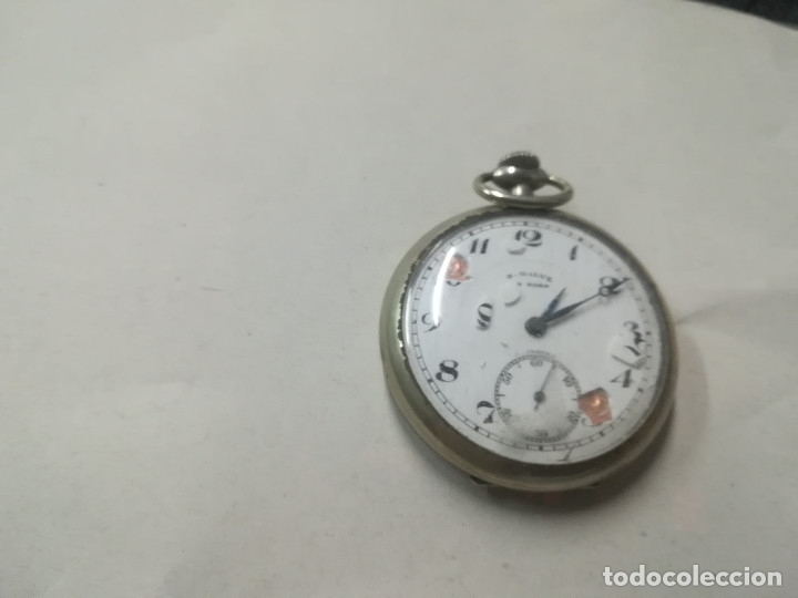 RELOJ BOLSILLO CUERDA S.GALVE PARA RESTAURAR (Relojes - Bolsillo Carga Manual)