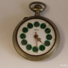 Relojes de bolsillo: RELOJ DE BOLSILLO ANTIGUO META. Lote 173891395