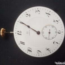 Relojes de bolsillo: MAQUINARIA RELOJ OMEGA EN FUNCIONAMIENTO.. Lote 173905108