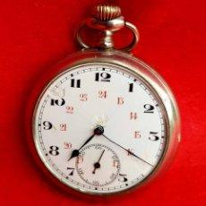 Relojes de bolsillo: RELOJ DE BOLSILLO JUNGHANS, C1920. Lote 174084252