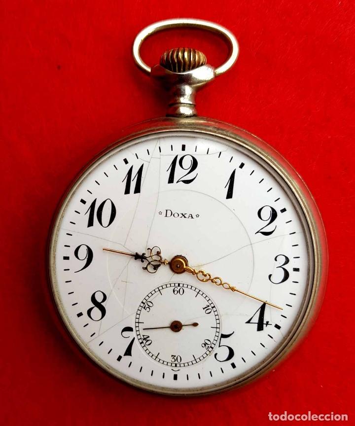 Relojes de bolsillo: RELOJ DE BOLSILLO DOXA, C1920, 53mm - Foto 2 - 174084973