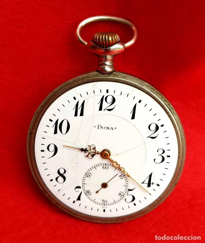 Relojes de bolsillo: RELOJ DE BOLSILLO DOXA, C1920, 53mm - Foto 3 - 174084973