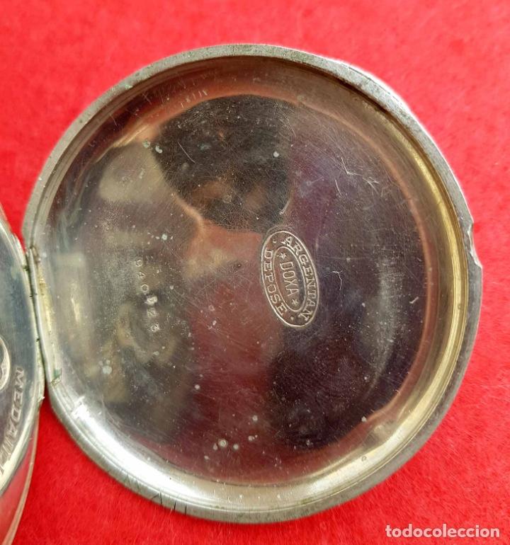 Relojes de bolsillo: RELOJ DE BOLSILLO DOXA, C1920, 53mm - Foto 5 - 174084973