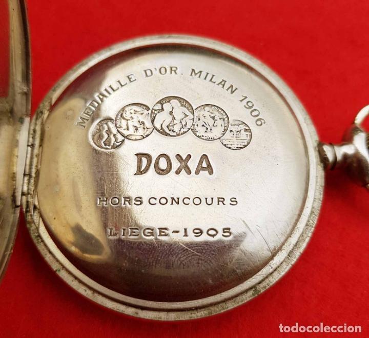 Relojes de bolsillo: RELOJ DE BOLSILLO DOXA, C1920, 53mm - Foto 6 - 174084973