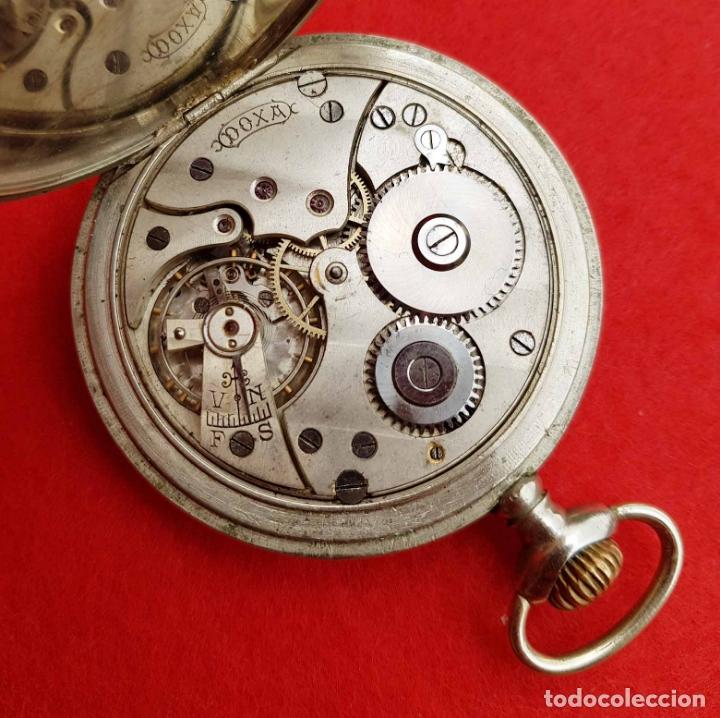 Relojes de bolsillo: RELOJ DE BOLSILLO DOXA, C1920, 53mm - Foto 7 - 174084973