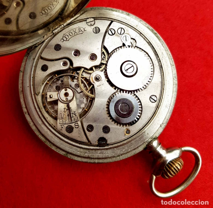Relojes de bolsillo: RELOJ DE BOLSILLO DOXA, C1920, 53mm - Foto 8 - 174084973