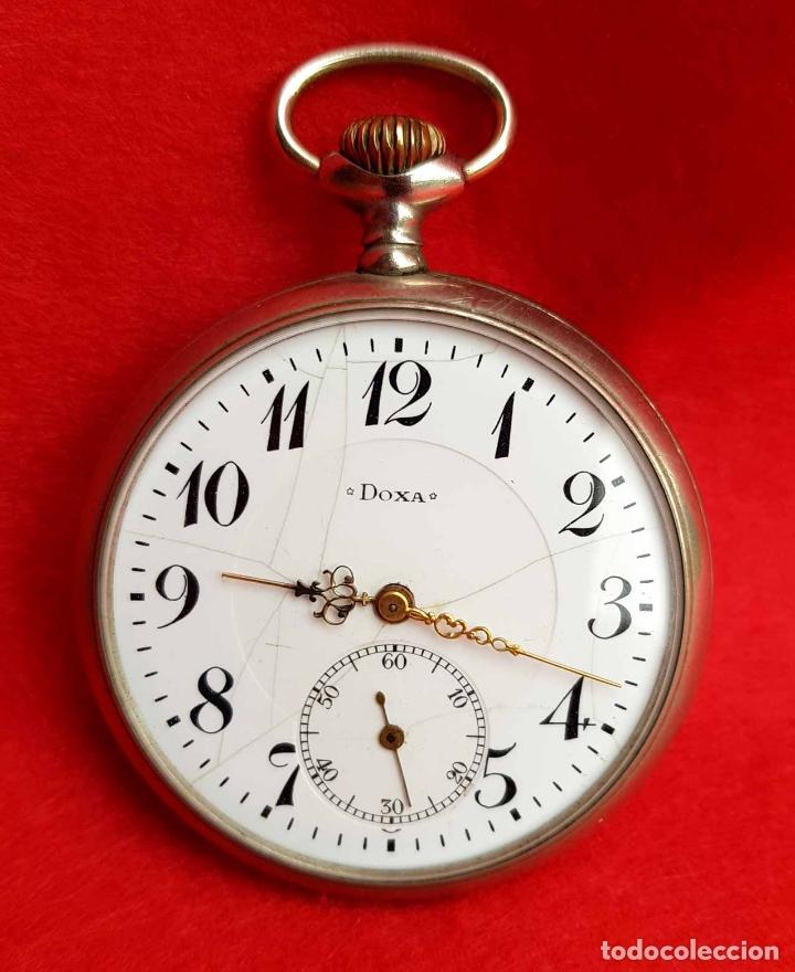 Relojes de bolsillo: RELOJ DE BOLSILLO DOXA, C1920, 53mm - Foto 10 - 174084973