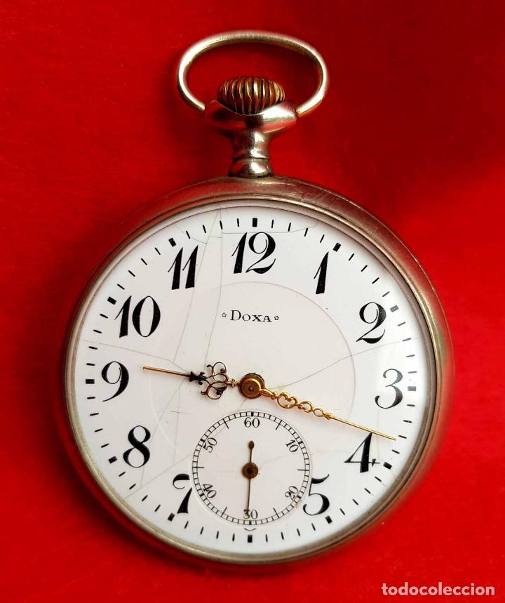 RELOJ DE BOLSILLO DOXA, C1920, 53MM (Relojes - Bolsillo Carga Manual)