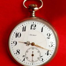 Relojes de bolsillo: RELOJ DE BOLSILLO DOXA, C1920, 53MM. Lote 174084973