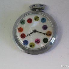 Relojes de bolsillo: RELOJ SE BOLSILLO CARGA MANUAL. Lote 174085385