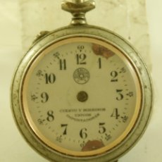 Relojes de bolsillo: ROSKOPF CUERVO Y SOBRINOS LA HABANA MECANICO . Lote 174410672