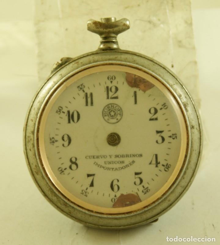 Relojes de bolsillo: ROSKOPF CUERVO Y SOBRINOS LA HABANA MECANICO - Foto 2 - 174410672