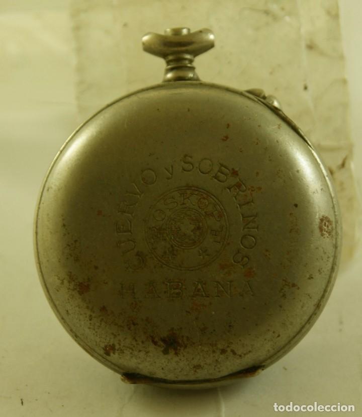 Relojes de bolsillo: ROSKOPF CUERVO Y SOBRINOS LA HABANA MECANICO - Foto 3 - 174410672