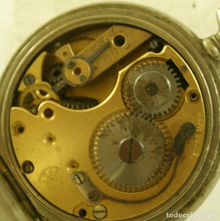 Relojes de bolsillo: ROSKOPF CUERVO Y SOBRINOS LA HABANA MECANICO - Foto 4 - 174410672