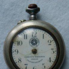 Relojes de bolsillo: ROSKOPF CUERVO Y SOBRINOS LA HABANA MECANICO . Lote 174410892