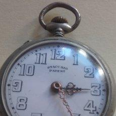 Relojes de bolsillo: - OFERTA DE VERANO. RELOJ MARCA SCATTACO PATENT MADE SUIZA . Lote 174491118