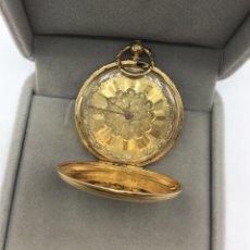 Relojes de bolsillo: RELOJ GENEVE DE ORO AMARILLO DE 18 KT. Lote 174505809