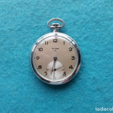 Relojes de bolsillo: RELOJ DE BOLSILLO MARCA ULTRA 41. FUNCIONANDO. Lote 174586458