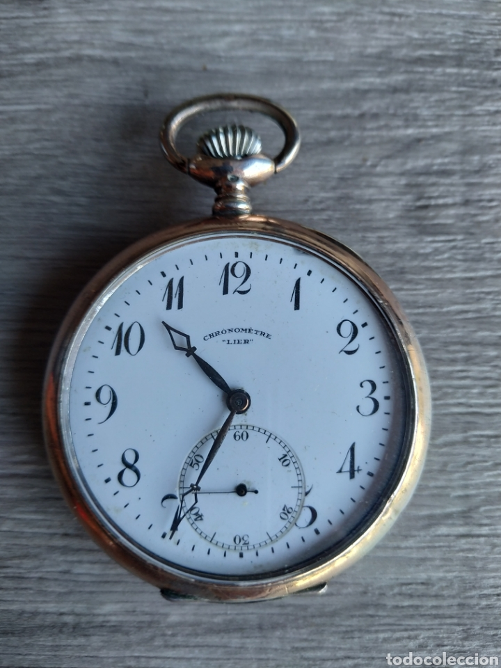 Relojes de bolsillo: Reloj cronómetro Lier - Foto 5 - 175182857