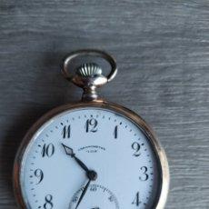 Relojes de bolsillo: RELOJ CRONÓMETRO LIER. Lote 175182857
