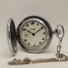 Relojes de bolsillo: RELOJ DE BOLSILLO MOLNIJA MADE IN USSR 1941. Lote 175448895