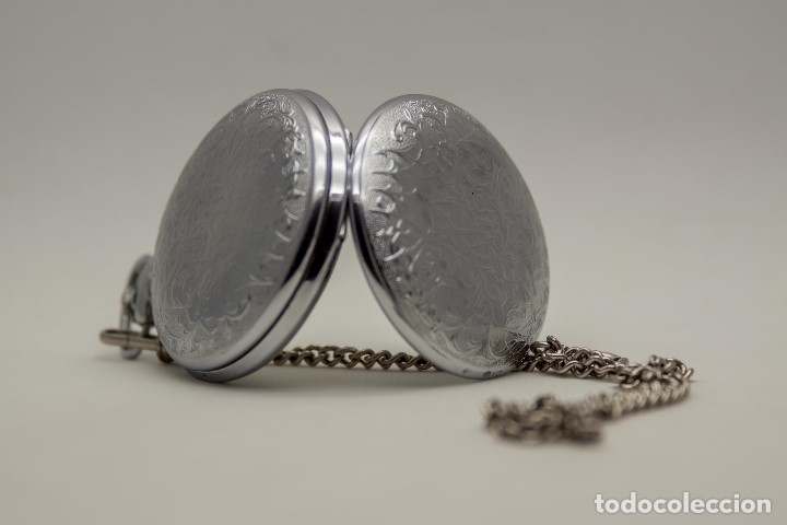 Relojes de bolsillo: RELOJ DE BOLSILLO MOLNIJA MADE IN USSR 1941 - Foto 3 - 175448895