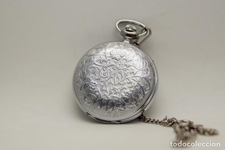 Relojes de bolsillo: RELOJ DE BOLSILLO MOLNIJA MADE IN USSR 1941 - Foto 5 - 175448895