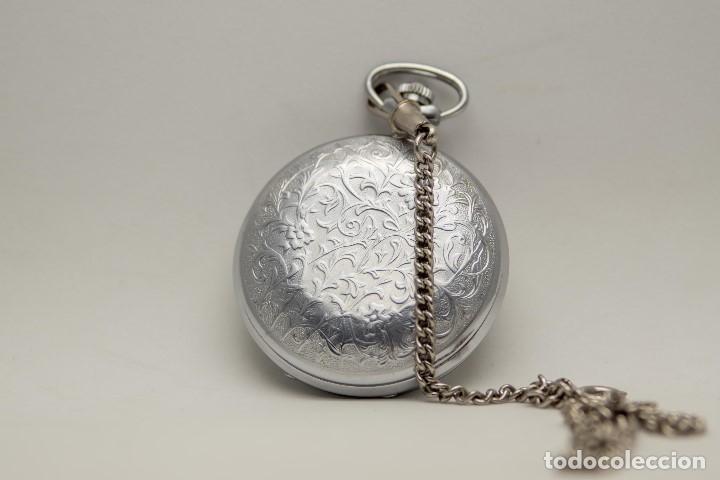 Relojes de bolsillo: RELOJ DE BOLSILLO MOLNIJA MADE IN USSR 1941 - Foto 6 - 175448895