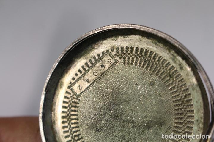 Relojes de bolsillo: tapadera reloj de bolsillo en plata de ley - Foto 2 - 175475769