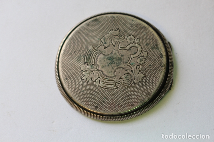 TAPADERA RELOJ DE BOLSILLO EN PLATA DE LEY (Relojes - Bolsillo Carga Manual)