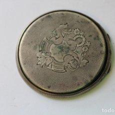 Relojes de bolsillo: TAPADERA RELOJ DE BOLSILLO EN PLATA DE LEY. Lote 175475769