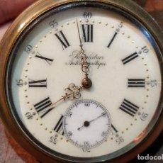 Relojes de bolsillo: PRECIOSO RELOJ DE BOLSILLO REGULATEUR ANTIMAGNETIQUE TIPO GOLIAT . FUNCIONANDO. Lote 52856502