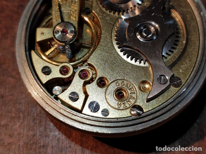Relojes de bolsillo: RELOJ DE BOLSILLO CONFIANZA ROSKOPF FUNCIONANDO. CRISTAL ORIGINAL - Foto 6 - 53512295