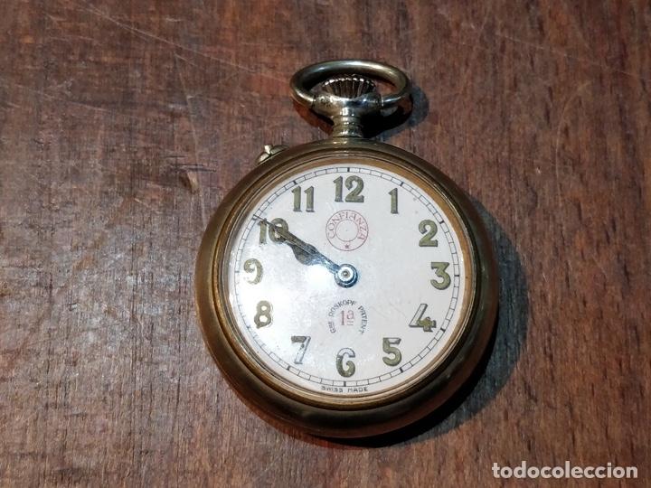 RELOJ DE BOLSILLO CONFIANZA ROSKOPF FUNCIONANDO. CRISTAL ORIGINAL (Relojes - Bolsillo Carga Manual)