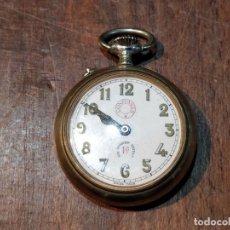 Relojes de bolsillo: RELOJ DE BOLSILLO CONFIANZA ROSKOPF FUNCIONANDO. CRISTAL ORIGINAL. Lote 53512295