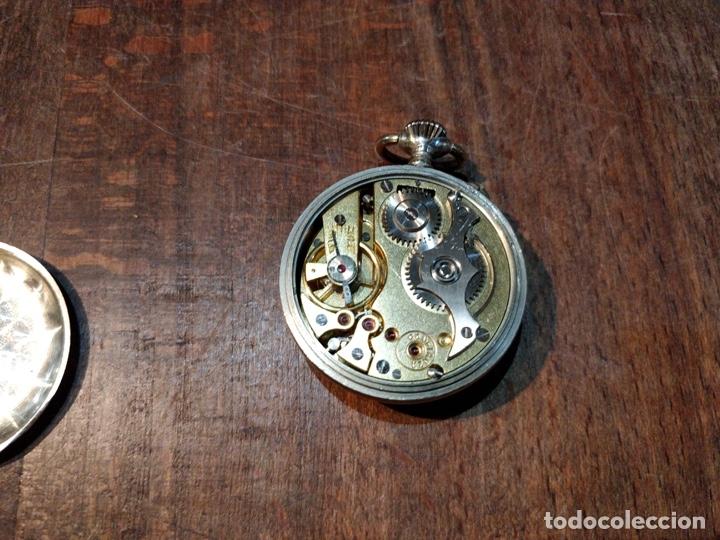 Relojes de bolsillo: RELOJ DE BOLSILLO CONFIANZA ROSKOPF FUNCIONANDO. CRISTAL ORIGINAL - Foto 4 - 53512295