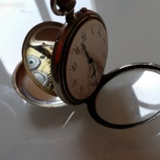 Relojes de bolsillo: RELOJ DE BOLSILLO ALCIDE DROZ, CAJA PLATA, XIX, BERNA.. Lote 175524665