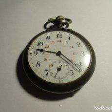 Relojes de bolsillo: RELOJ PARA REPARAR NO FUNCIONA 50 MM SIN CONTAR LA CORONA . Lote 175702167