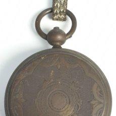 Relojes de bolsillo: RELOJ DE BOLSILLO. SABONETA. CAJA DE METAL. 4 RUBIES. PRINCIPIOS SIGLO XX. . Lote 175736823