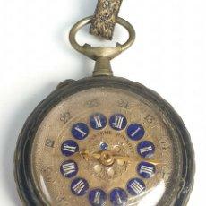 Relojes de bolsillo: RELOJ DE BOLSILLO. TIPO LEPINE. ESTILO ROSKOPF. CAJA DE METAL. SIGLO XX. . Lote 175738248