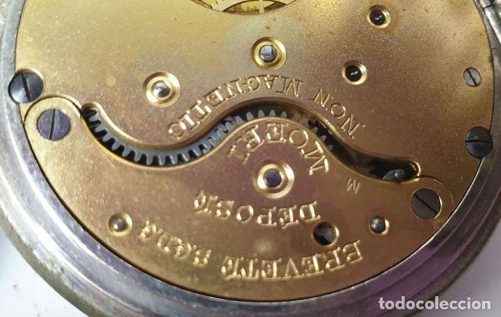 Relojes de bolsillo: RELOJ DE BOLSILLO. MARCA MOERI. TIPO LEPINE. CAJA DE METAL. SIGLO XX. - Foto 4 - 175740762