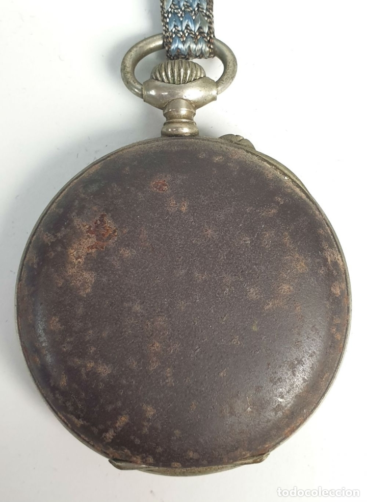 Relojes de bolsillo: RELOJ DE BOLSILLO. MARCA MOERI. TIPO LEPINE. CAJA DE METAL. SIGLO XX. - Foto 6 - 175740762